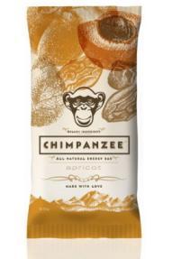 Natürliches Energie Riegel Chimpanzee Peach