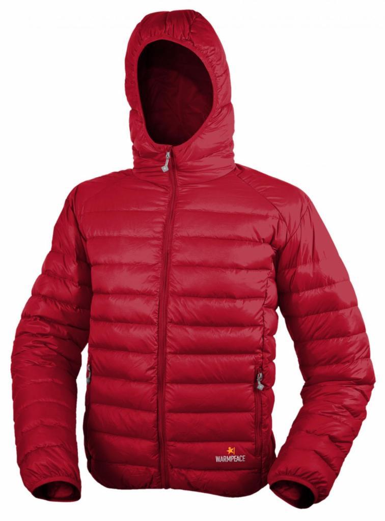 Leichte Jacke mit kaputze Warmpeace Norvik Kibuba