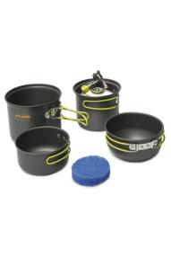Cooking set Pinguin Double Alu