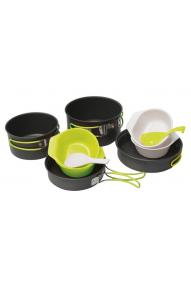 Cooking set Pinguin Quadri Alu