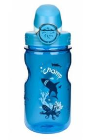 Otroška steklenička Nalgene OnTheFly Shark 0,35L