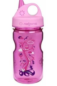 Kinder Flasche Nalgene Grip'n'Gulp Woodland Kids
