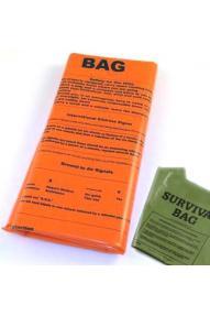 Zasilna spalna vreča Bushcraft Emergency Sleeping Bag