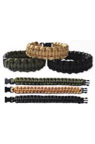 Zapestnica Bushcraft Paracord Bracelets
