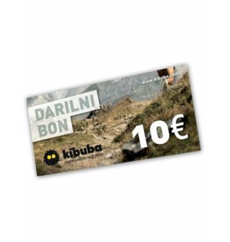 Darilni bon Kibuba 10 EUR