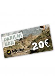Poklon bon Kibuba 20 EUR