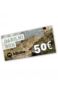 Poklon bon Kibuba 50 EUR