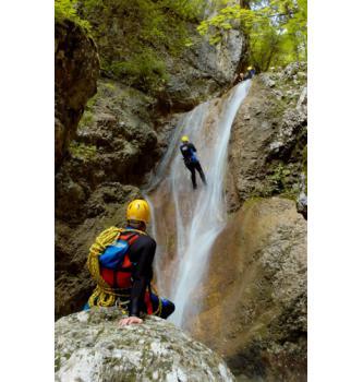 Canyoning Jerečica (kratka)
