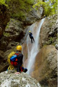Mini-Canyoning Jerečica