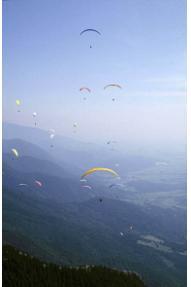 Tandem-Fallschirmspringen von Ambrož pod Krvavcem