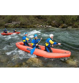 Rafting po gornjem dijelu Save Bohinjke