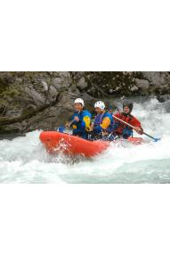 Rafting po spodnjem delu Save Bohinjke