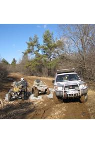 Abenteuerausflug mit Geländewagen