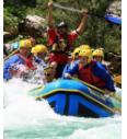 Klasični rafting (Soča)