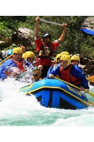 Rafting ''das längste'' (Soča)