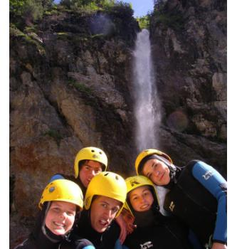 Canyoning Fratarica