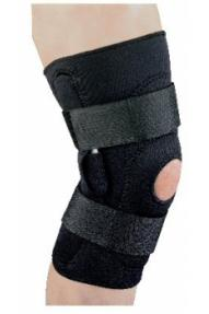 Neoprene knee support Hinged
