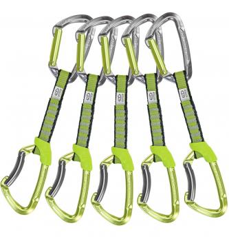 Set sistemov vponk Climbing Technology Lime