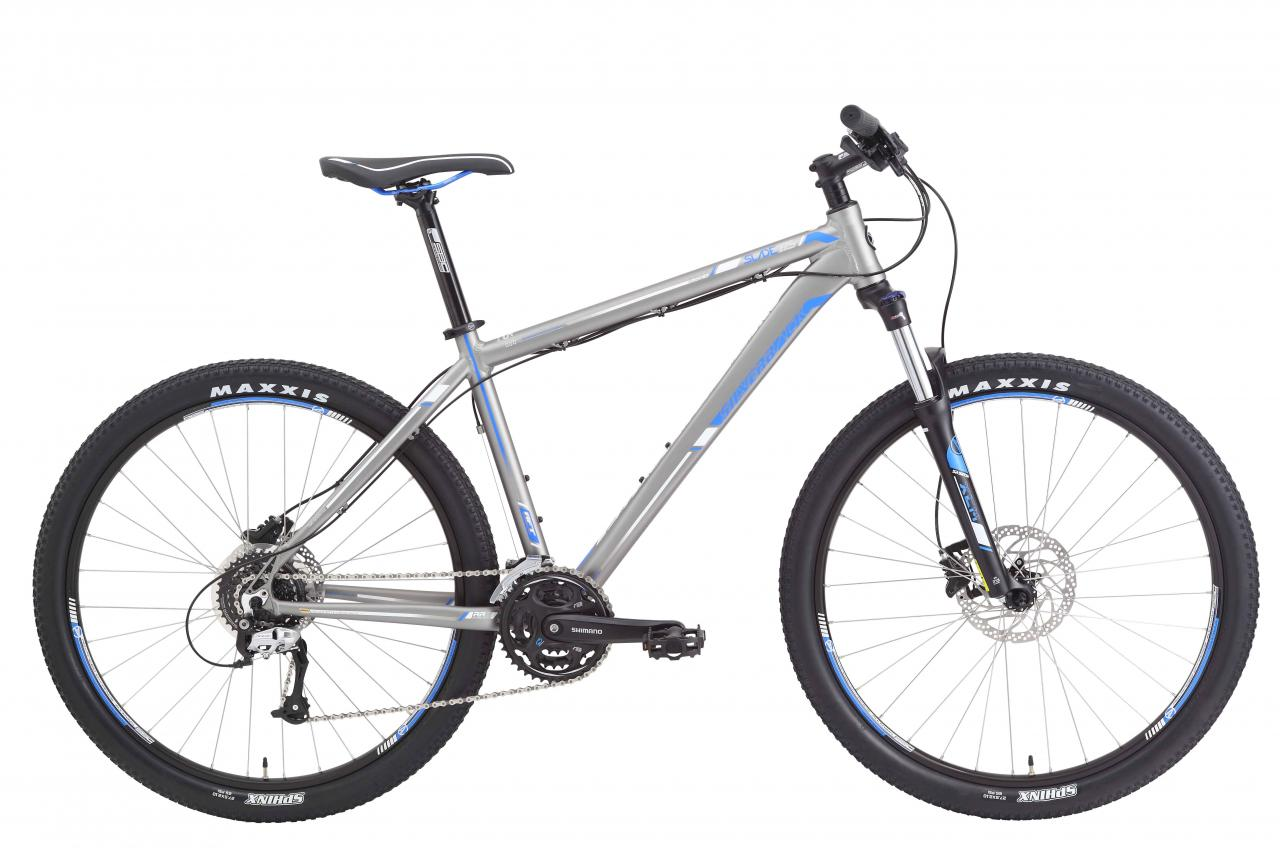 Mens Hardtail Mountain Bike Silverback Slade 4 Kibuba