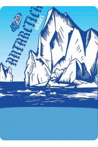 mehrseitige Kopfbedeckung 7 continents antartica ice
