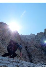 Bavarski smjer na Sjevernoj triglavskoj stijeni