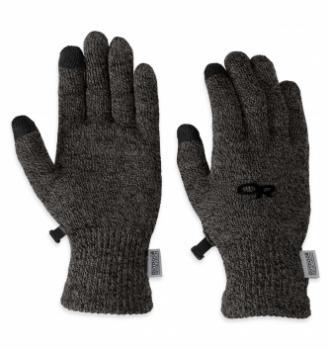 Women's merino liner gloves Outdoor Research Biosensor