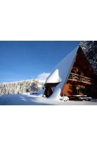 Blockhütte Alpinka 1 auf Krvavec