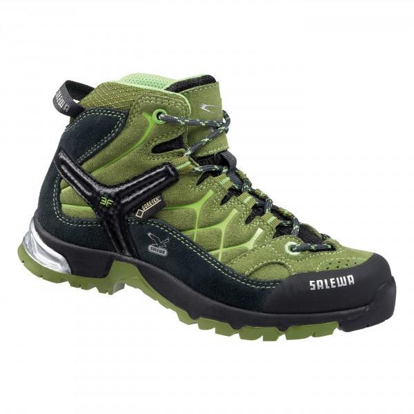21ea9a36ba Scarpe da trekking per bambini Salewa Alp Trainer Mid GTX - Kibuba ...