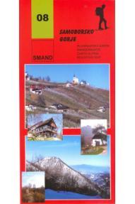 Landkarte Smand 08 Samoborsko gorje (Gebirge)