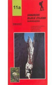 Zemljovid Smand 11a Bijele i Samarske stijene