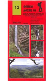 Landkarte Smand 13, Bergland III