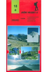 Landkarte Smand 18a südlicher Velebit II