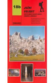 Landkarte Smand 18b Južni Velebit III