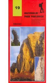 Planinarska karta Smand 19 NP Paklenica