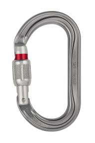 Ovaler Karabiner Petzl OK Screw Lock
