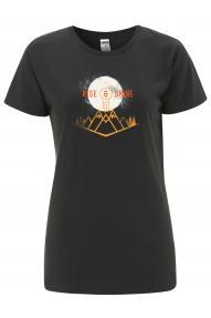 Ženska majica s kratkimi rokavi Hybrant Rise&Shine