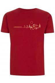 Majica kratkih rukava Twentyfour-seven Land square
