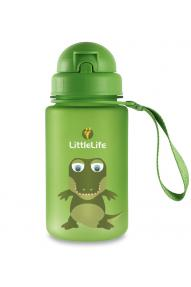 Bottiglia piccola per bambini LittleLife Animal Bottle Crocodile