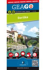 Rekreacijska karta GeaGo Goriška 1:50.000