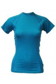 Maglietta sportiva a maniche corte donna Merino Crew