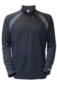 Men long sleeve Performance Baselayer Zip Top