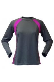 Damen Funktionsshirt Longsleeve Performance Baselayer Crew