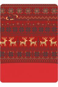 Večnamensko pokrivalo Polartec Deer Red