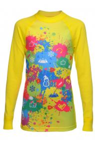 Kinder aktives Longarmshirt Thermowave