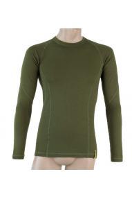 Men long sleeve shirt Sensor merino double face
