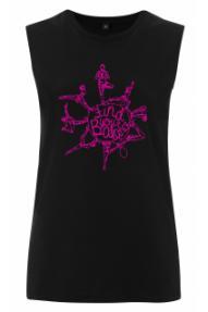 Ženska majica bez rukava Find Your Balance Hybrant