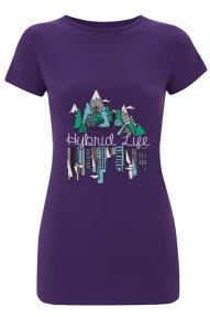 Ženska majica s kratkim rukavima Hybrid Life Hybrant