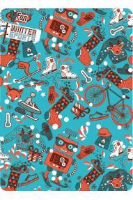 Otroško večnamensko pokrivalo 4Fun Christmas Ride