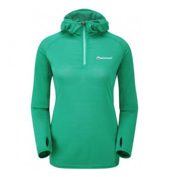Ženski pulover s kapuco Montane Allez Micro Hoodie