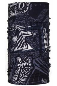 Dječja višenamjenska marama 4Fun Owl Black